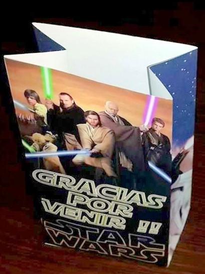 29aba0ab7 Bolsita Star Wars – Cotillones La Paz